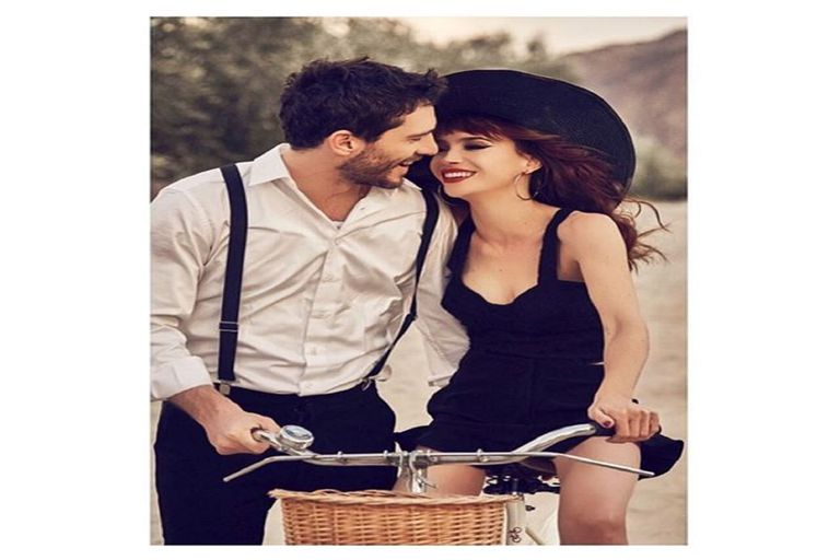 La pareja, en una foto publicitaria de la marca de ropa de la actriz, del pasado mes de octubre