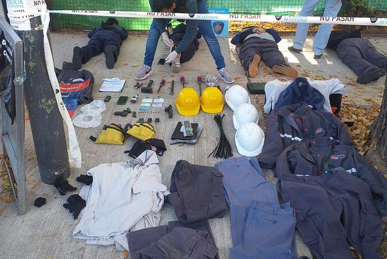La Policía de la Ciudad detuvo a cinco sospechosos