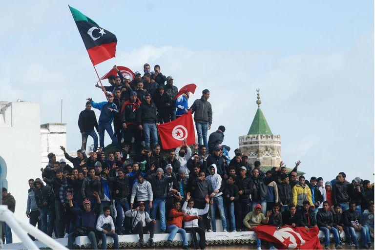 """Túnez fue el país donde empezaron las protestas que se terminarían convirtiendo en la """"primavera árabe"""""""