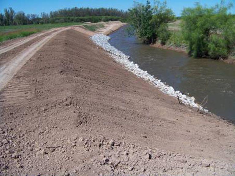 Etapa final: una obra hídrica mejorará 600.000 hectáreas