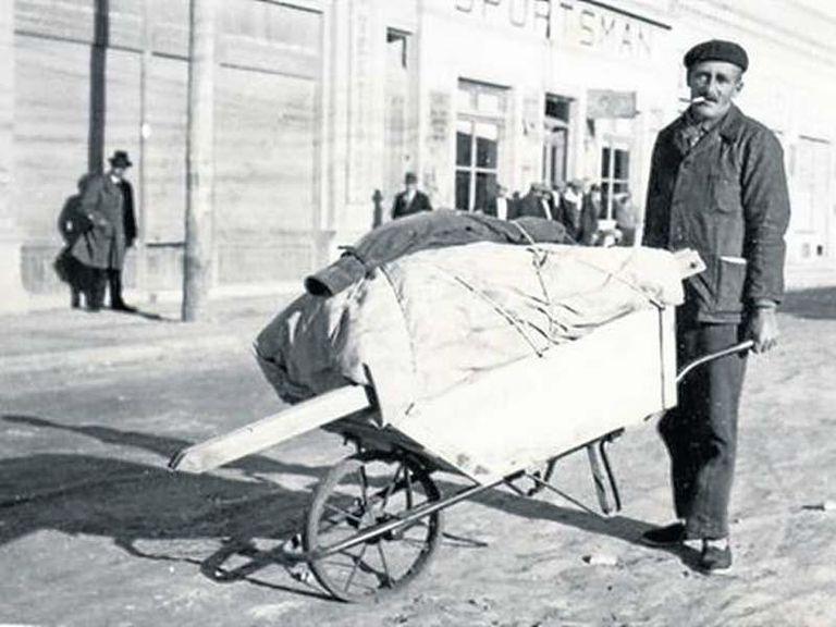 Guillermo Larregui, durante su primer viaje.