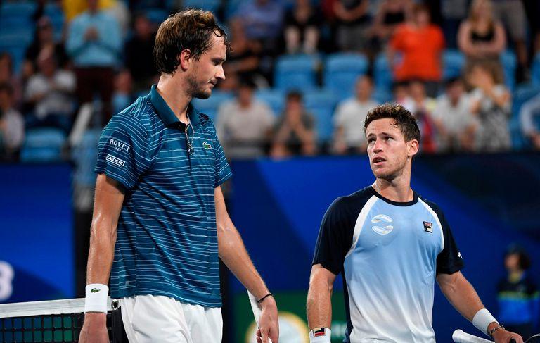 ATP Cup. Argentina perdió ante Rusia y quedó eliminada en cuartos de final