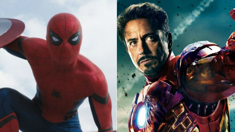 Spiderman e Iron Man, dos de los personajes cuya autoría está en disputa entre Marvel/Disney y los herederos de sus creadores