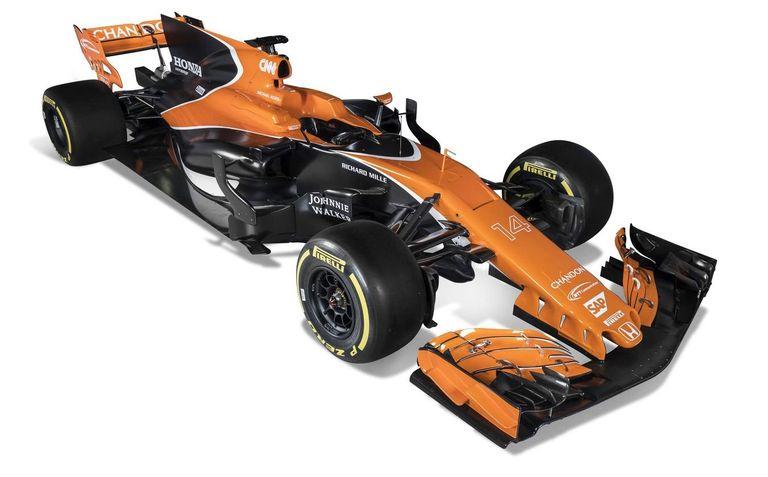 McLaren MCL32-Honda, el último monoplaza de la factoría de Woking