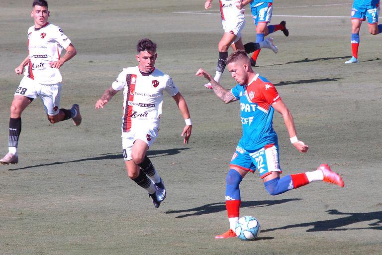 Escena del partido que disputaron Unión de Santa Fe y Patronato.