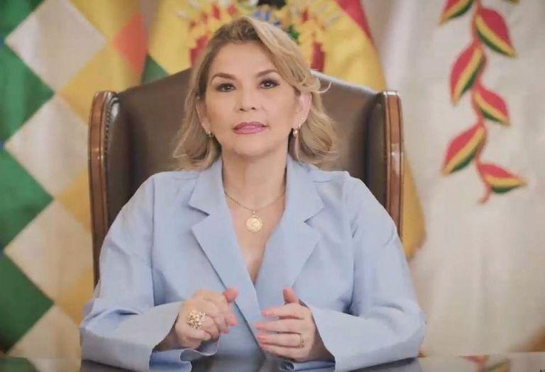12-09-2020 La autoproclamada presidenta de Bolivia, Jeanine Áñez POLITICA SUDAMÉRICA BOLIVIA PRESIDENCIA BOLIVIA
