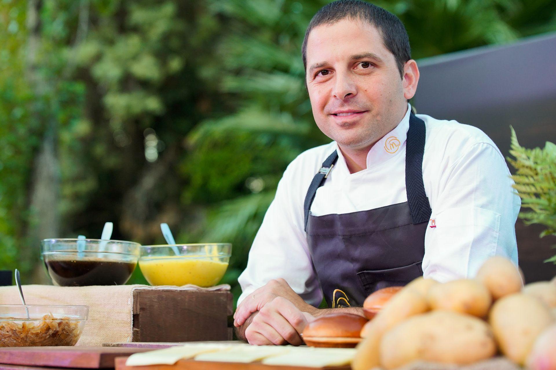 Ariel Gravano, Chef Ejecutivo de McDonald's, estuvo a cargo del desarrollo del menú preparado íntegramente con insumos de McDonald's