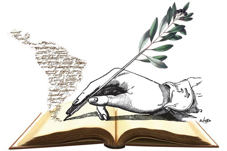 Pasado y presente de América Latina, en su literatura