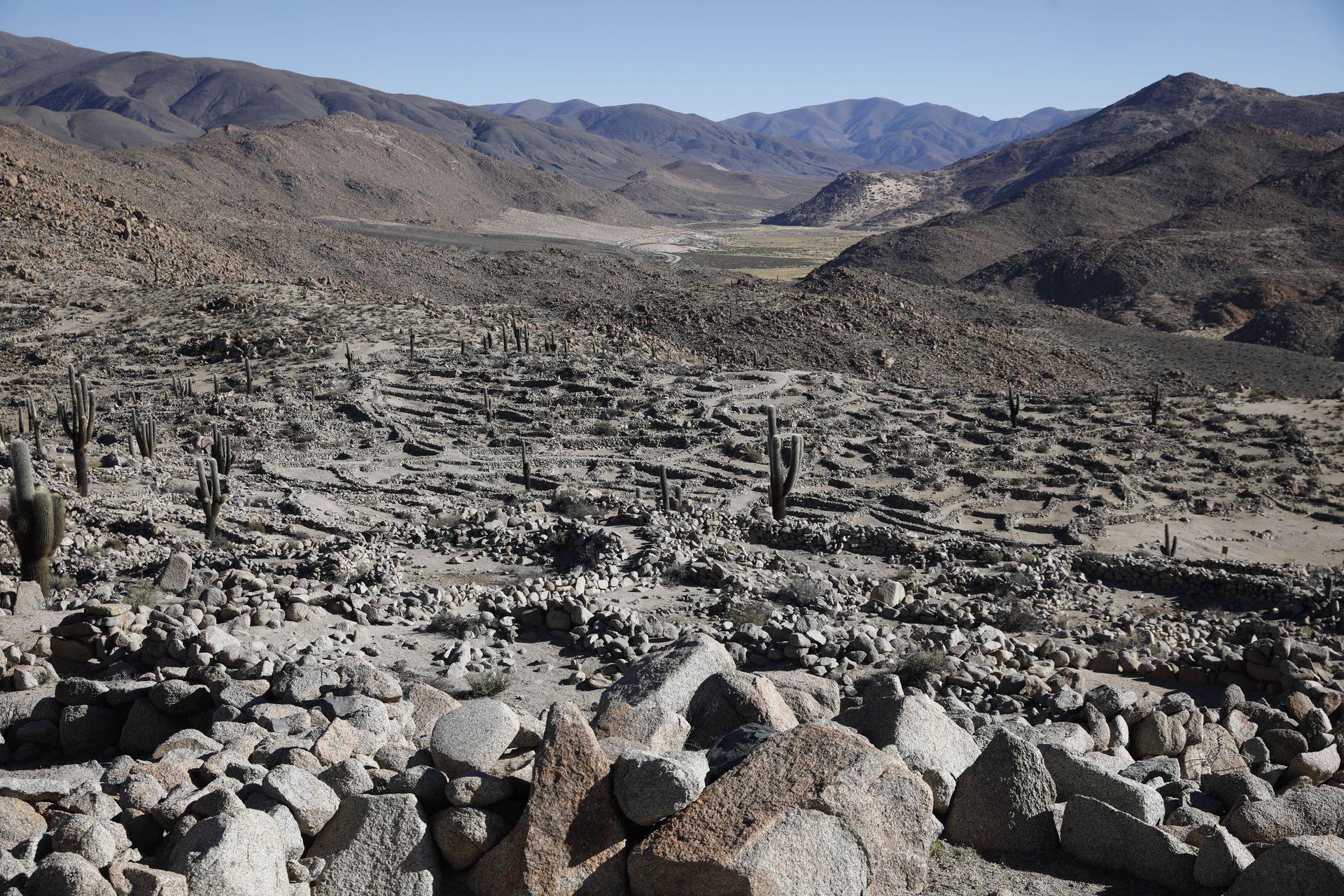 Las Ruinas de Tastil están en el Departamento de Rosario de Lerma