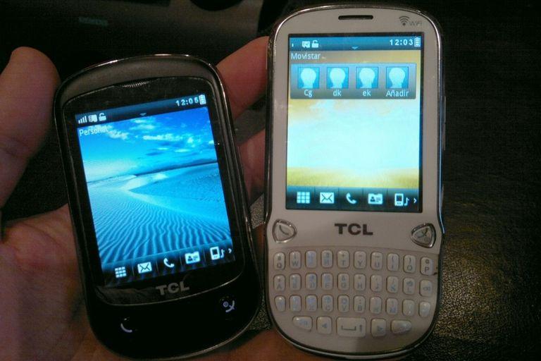 Los dos modelos que TCL venderá en Argentina liberados, sin necesidad de contrato alguno con las operadoras de telefonía celular