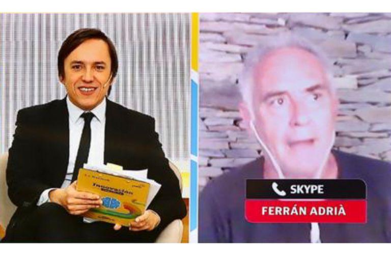 Ferrán Adriá, en diálogo con José Del Rio