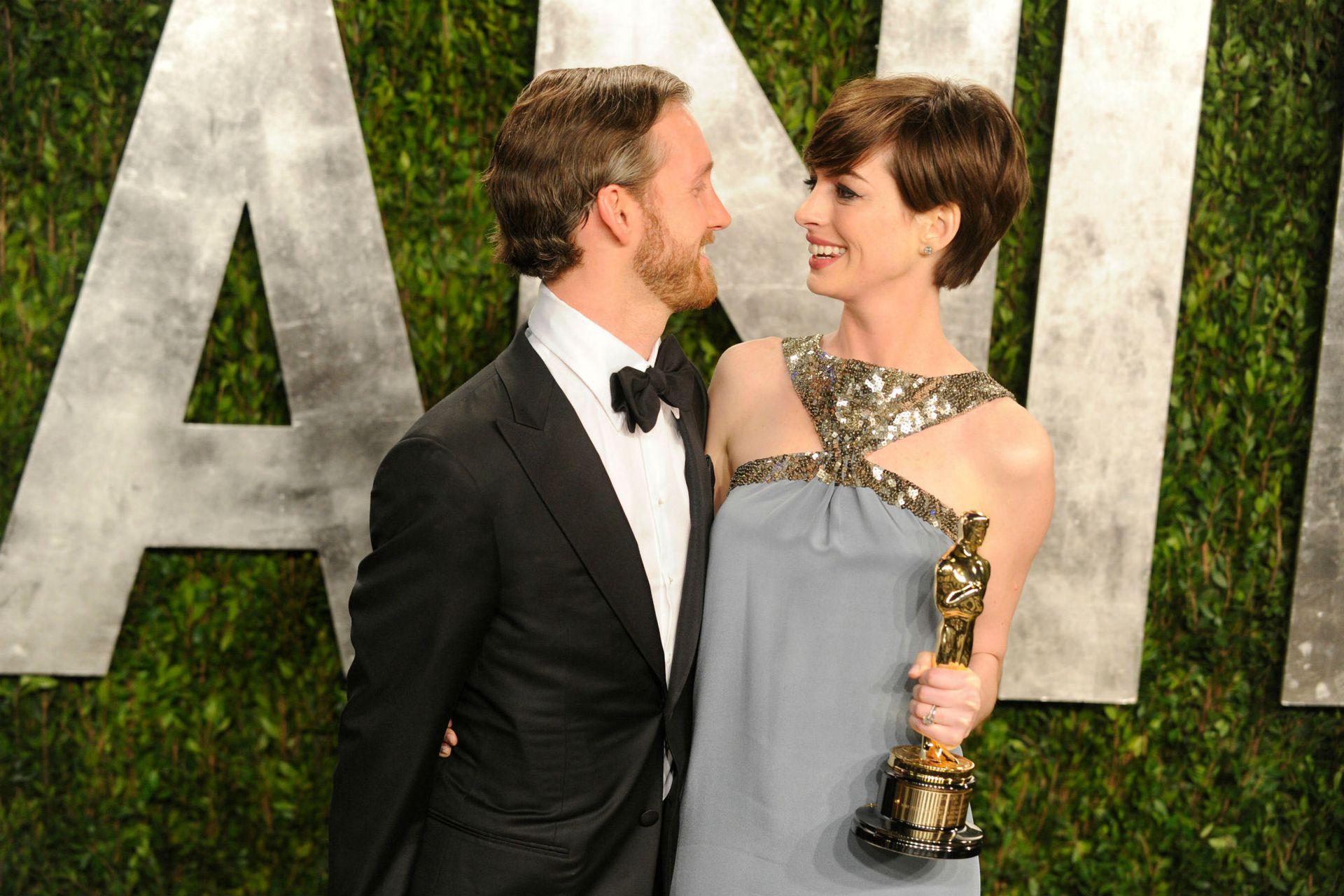 Cuando Anne recibió en 2013 el Oscar a mejor actriz de reparto por Los miserables