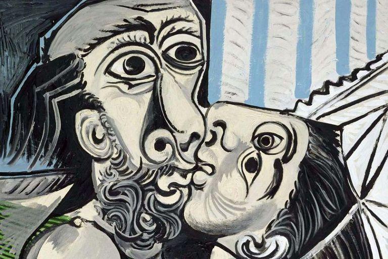 Un Picasso de 1969, pintado apenas cuatro años antes de su muerte, cuando ya tenía 88 años