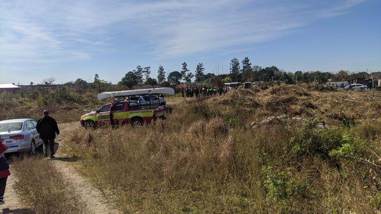 Encontraron restos carbonizados que serían de una niña intensamente buscada