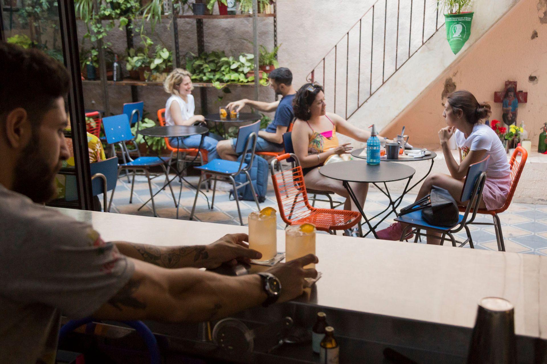 Bar Sifón, en Chacarita