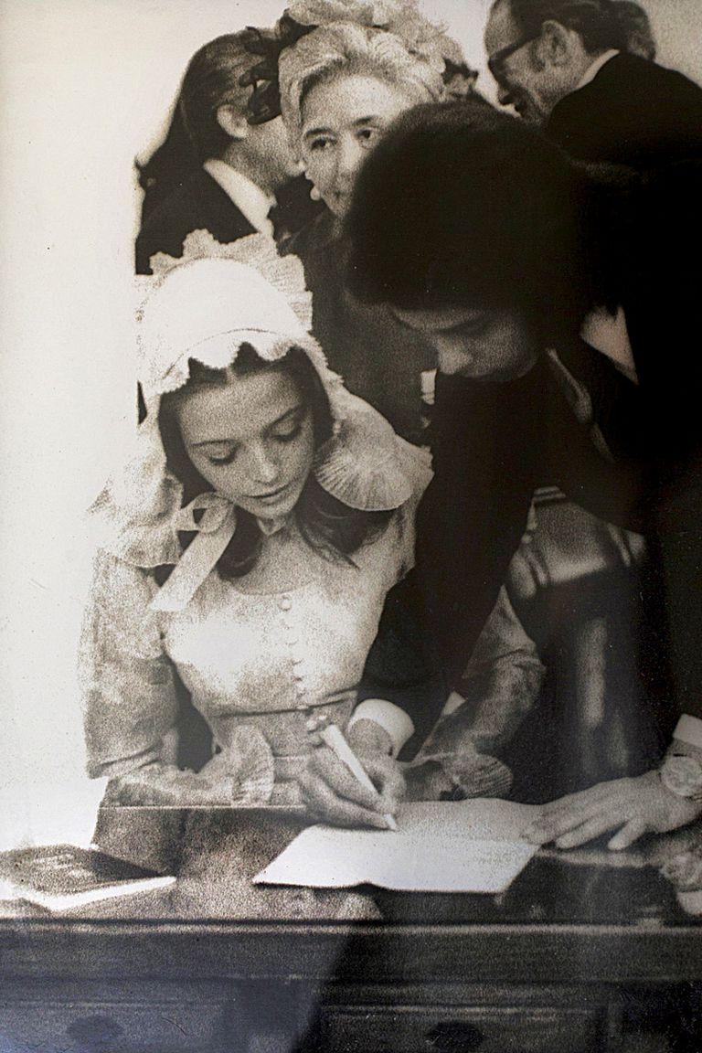 Sellaron su amor con una boda celebrada en Madrid, en mayo de1972.