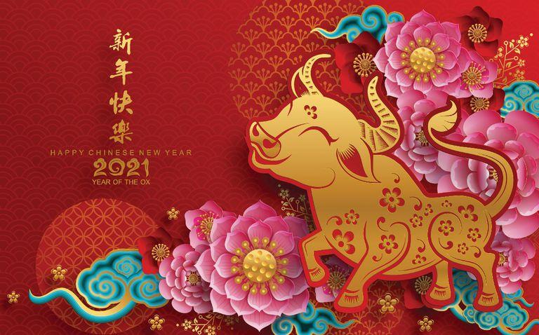 El año del búfalo (o del buey) según el calendario chino