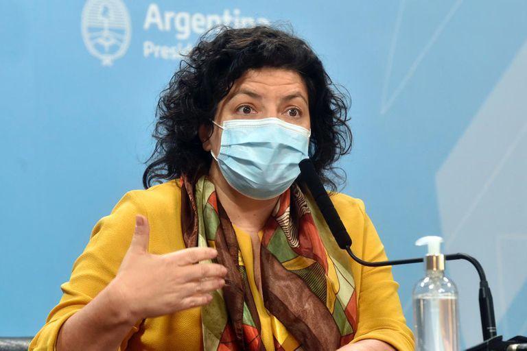 Carla Vizzotti anunció cuándo estarán listas las segundas dosis de la vacuna rusa fabricadas en la Argentina