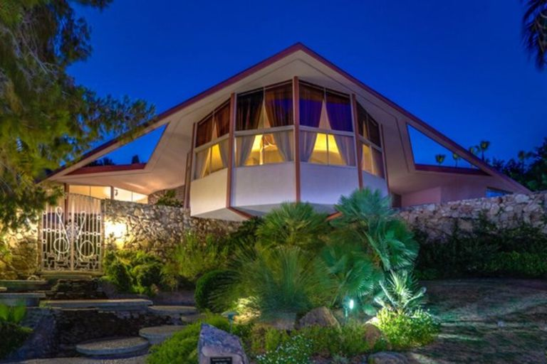 Fotos: venden la mansión futurista donde Elvis Presley pasó su luna de miel