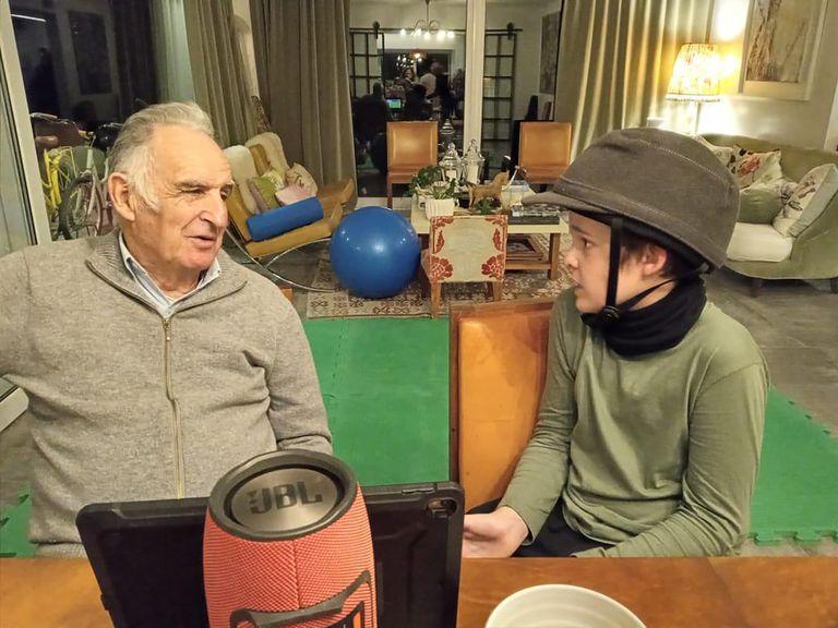 La charla con el abuelo Alberto Pedro Heguy
