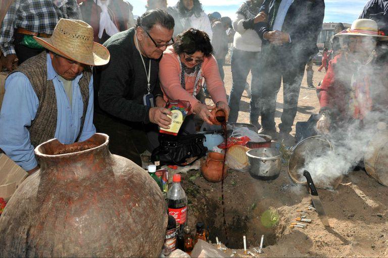 El ritual de agradecimiento en los pueblos del norte argentino