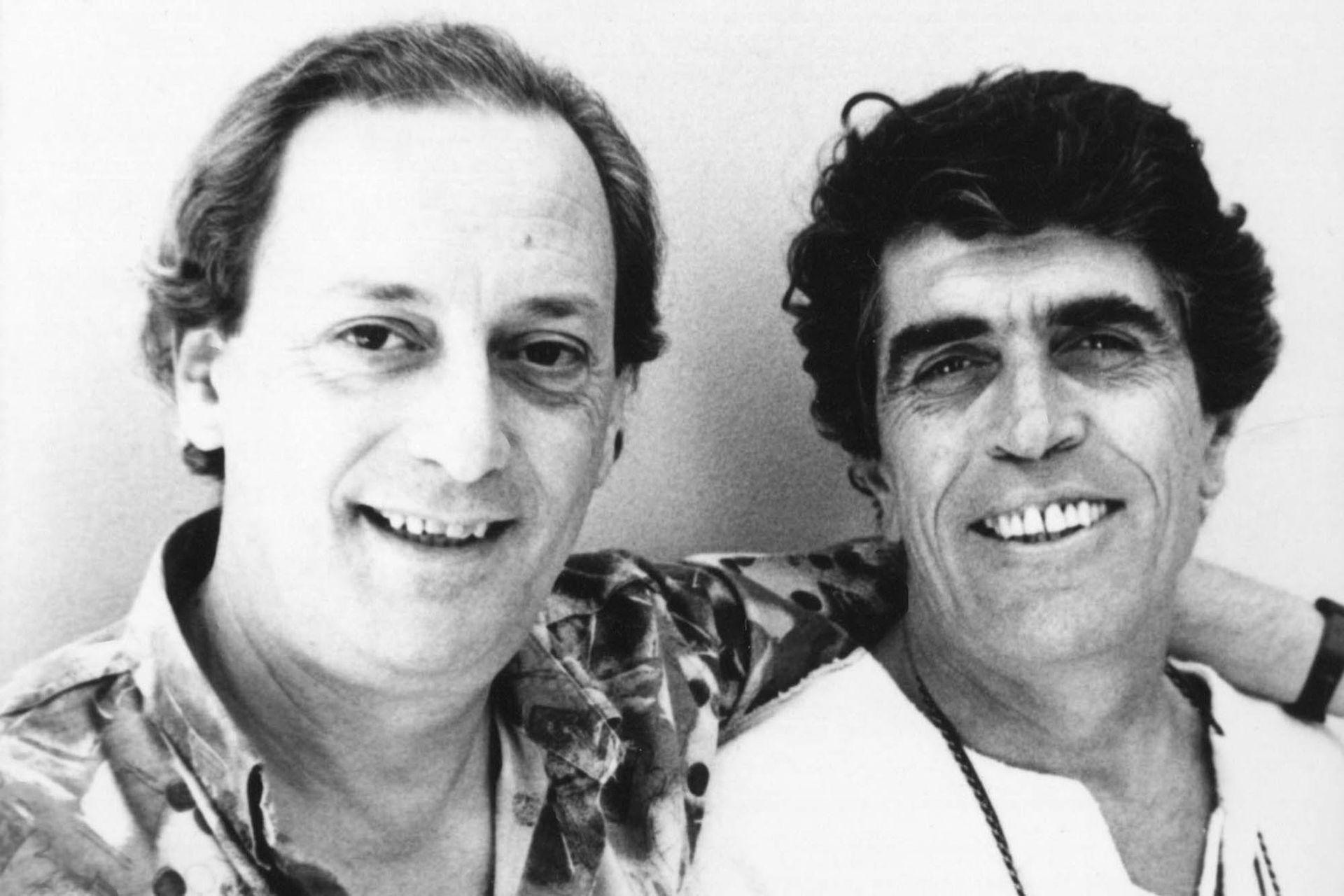 Carlos Gianni y Hugo Midón, una de las mejores duplas creativas que ha dado el musical argentino
