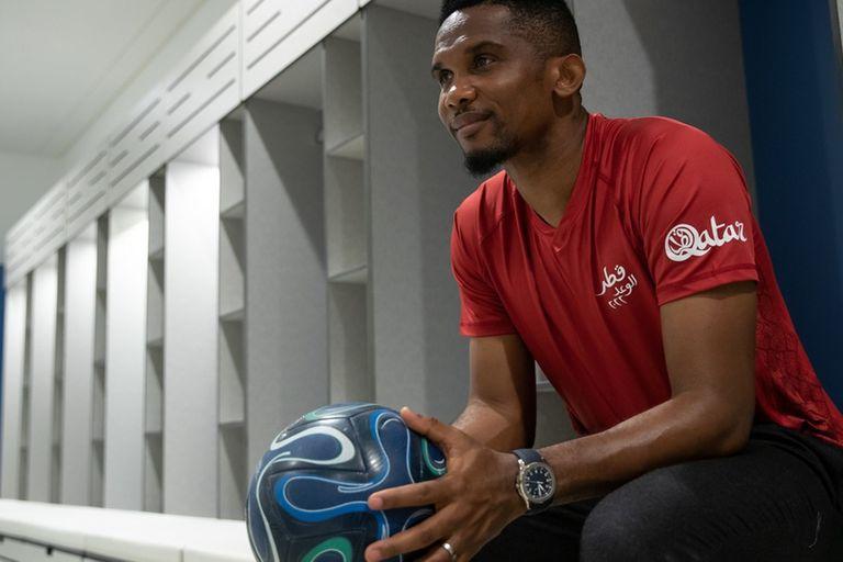 Eto'o se quedó a vivir en Doha tras cerrar su carrera en el fútbol qatarí