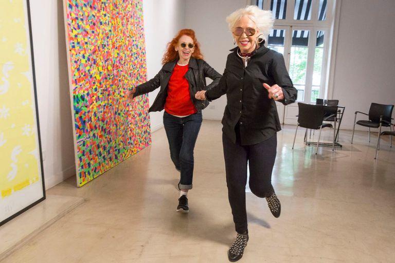 Delia Cancela y Marta Minujín participan de la muestra Ellas en Herlitzka Faria