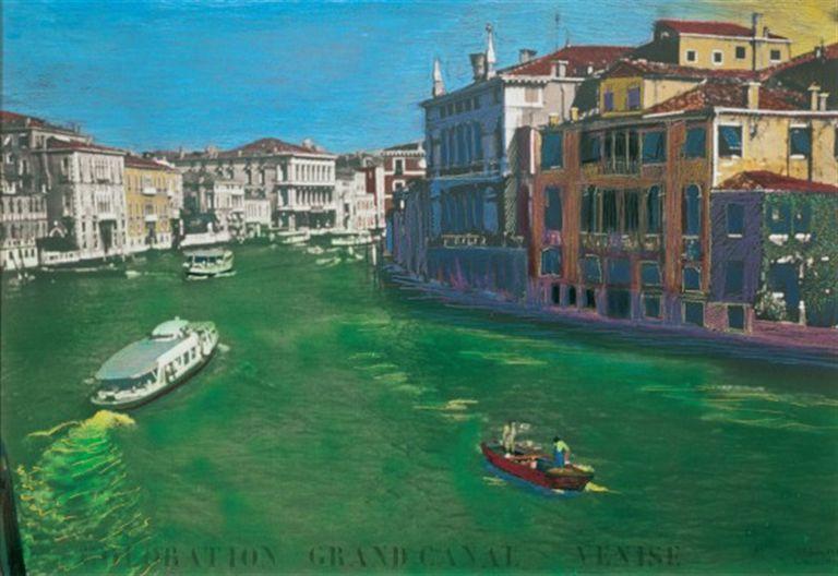 Los antiguos canales verdes de García Uriburu