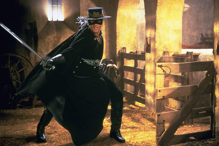 Maska Zorro z Antonio Banderasem