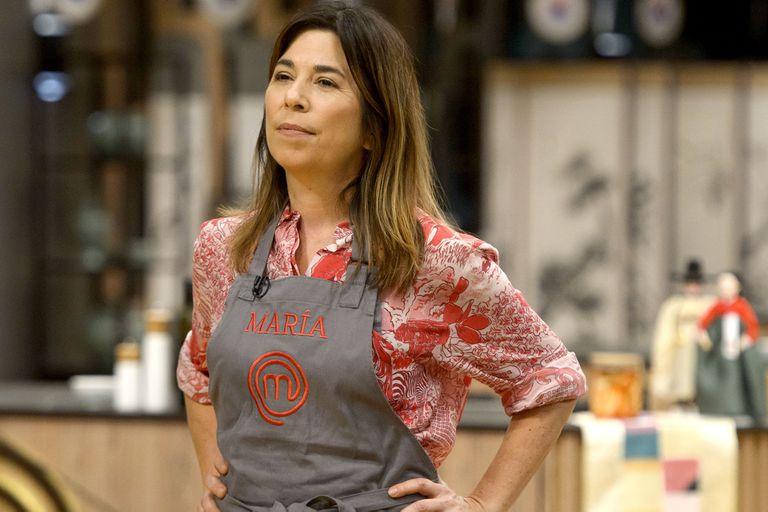 MasterChef Celebrity: María O'Donnell y un error imperdonable
