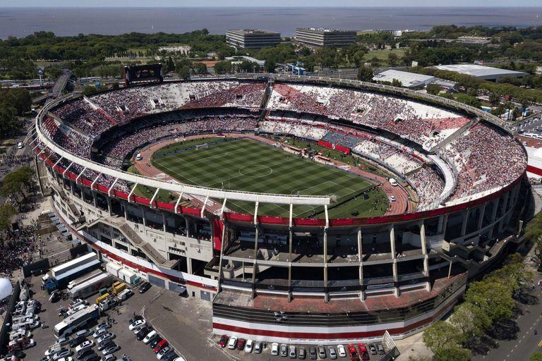 El estadio Monumental ya no será escenario de la finalísima