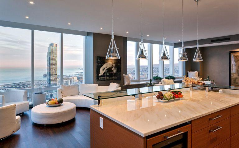 Así son por dentro los lujosos apartamentos del rascacielos de San Francisco