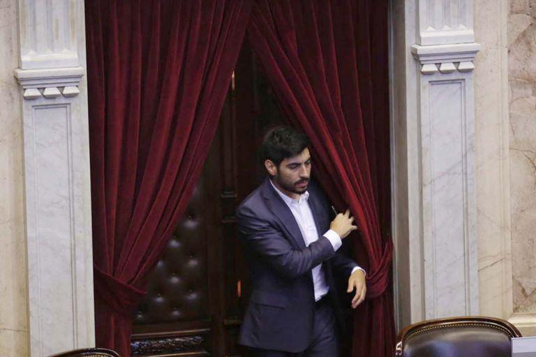 Facundo Moyano renuncia a su banca de diputado y se va del Frente de Todos