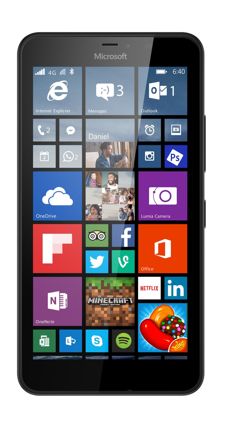 La phablet Lumia 640XL viene con Windows Phone
