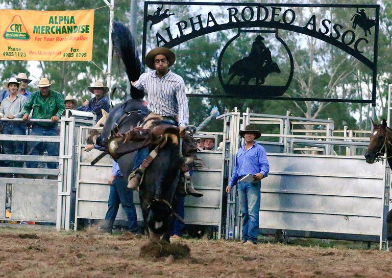 """Ricardo """"Ricky"""" Massola tiene 31 años, es agrónomo y en su tiempo libre brilla en el rodeo australiano"""