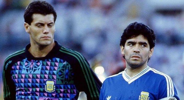 """Goycochea recordó a Maradona en un Día de la Patria """"diferente"""""""