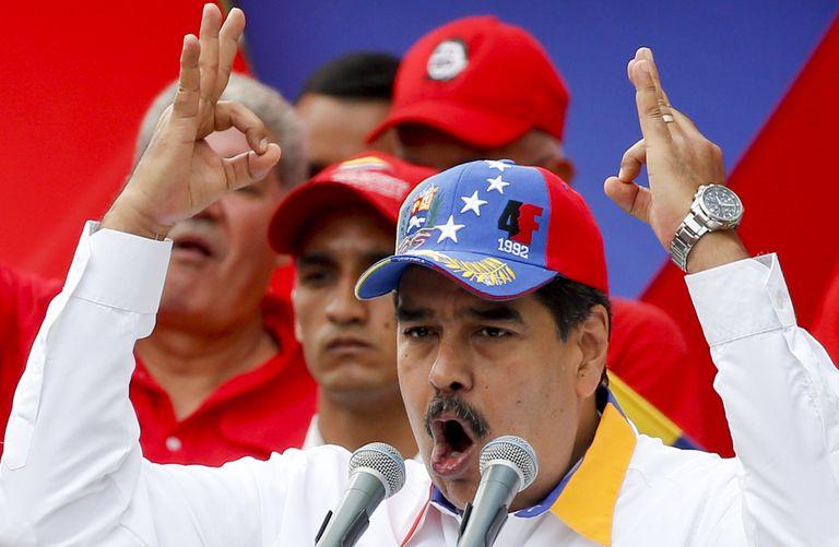 El presidente Nicolás Maduro (AP Foto/Natacha Pisarenko)