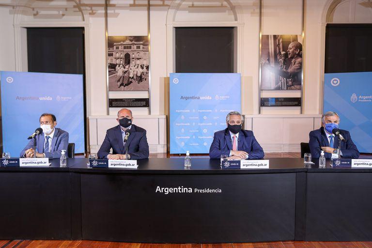 Gobernadores: ofensiva para que Fernández impulse la suspensión de las PASO