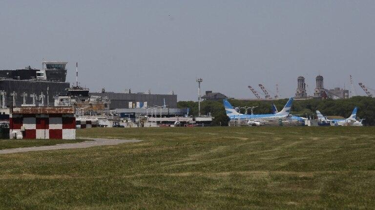 La aeronave no sufrió daños mayores, pero quedó fuera de servicio para inspecciones