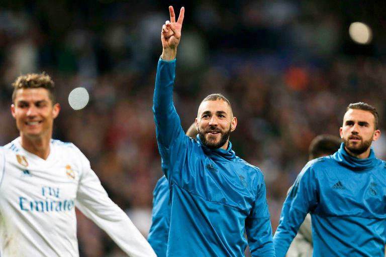 Karim Benzemá, figura del partido