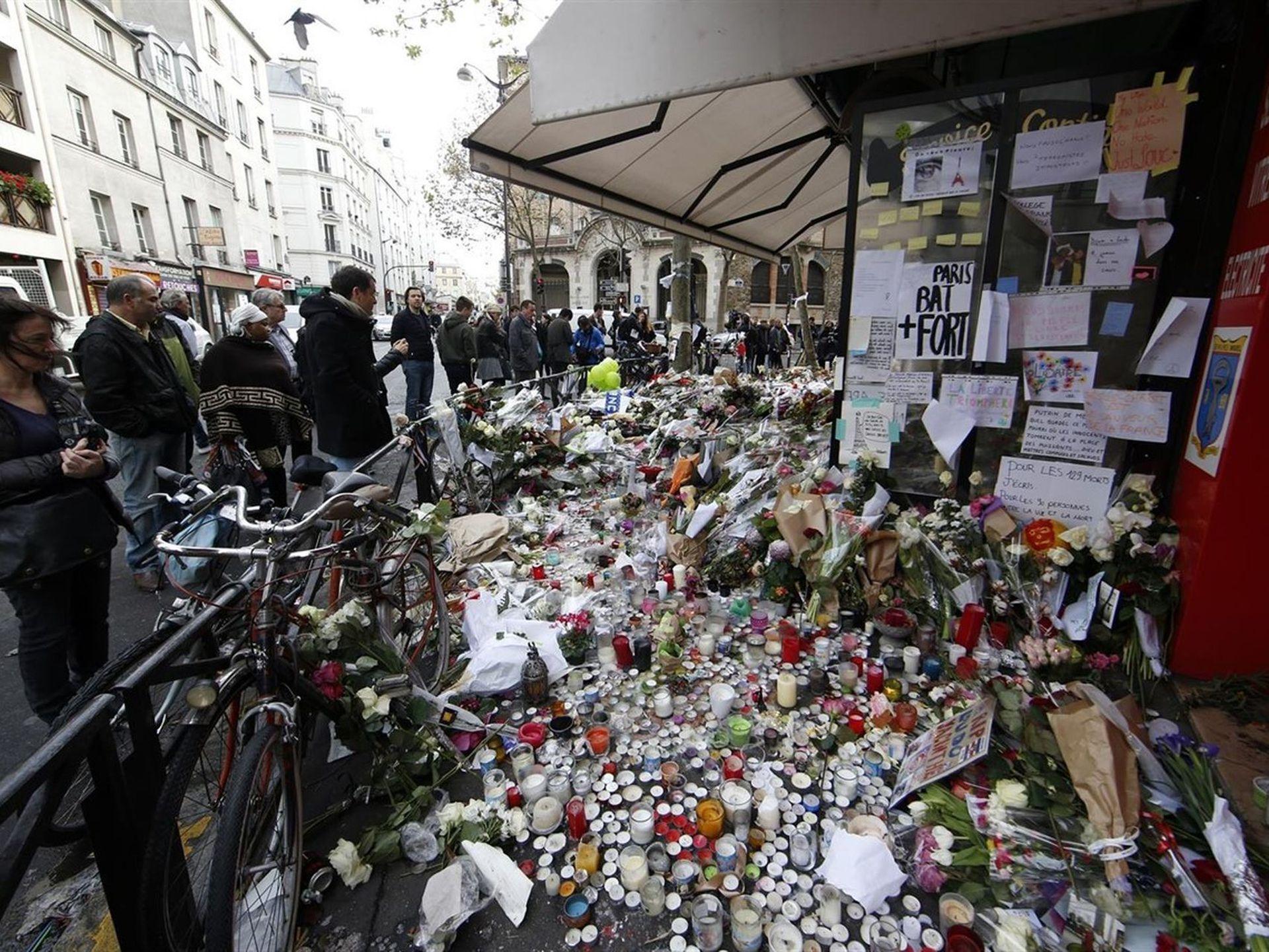 Los atentados en el teatro Bataclan y otros puntos del centro de París el 13 de noviembre de 2015 fueron los más fuertes de Estado Islámico en Occidente