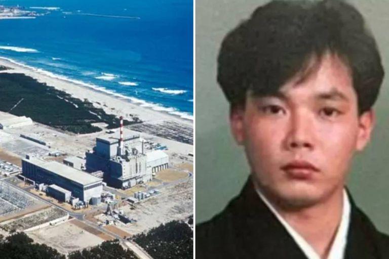 La planta nuclear de Tokaimura, en Japón y una imagen de Hisashi Ouchi, el hombre que sufrió allí un accidente y absorbió la mayor dosis de radiación que recibió un ser humano en la historia