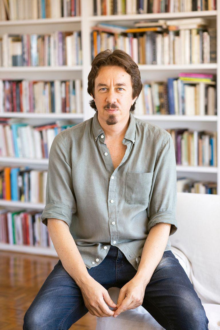 El escritor decidió presentar su nuevo libro, Breves amores eternos, en formato epistolar