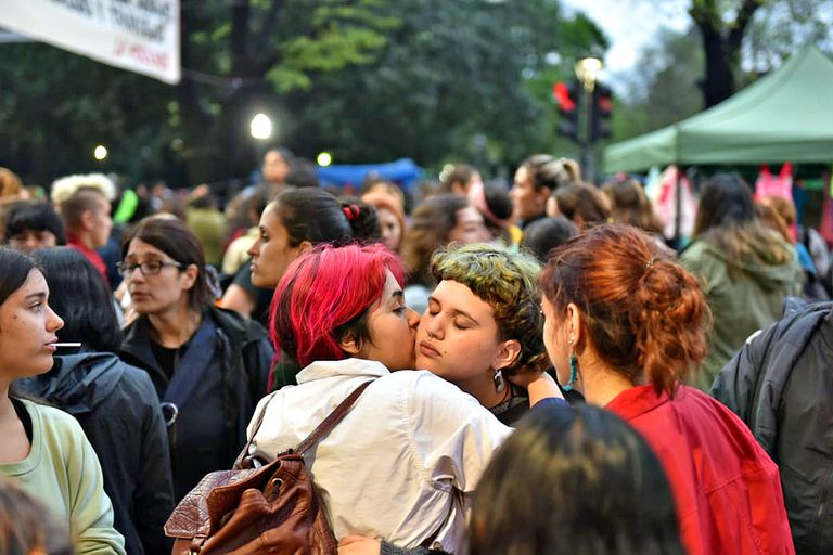 Encuentro Nacional de Mujeres en la ciudad de La Plata