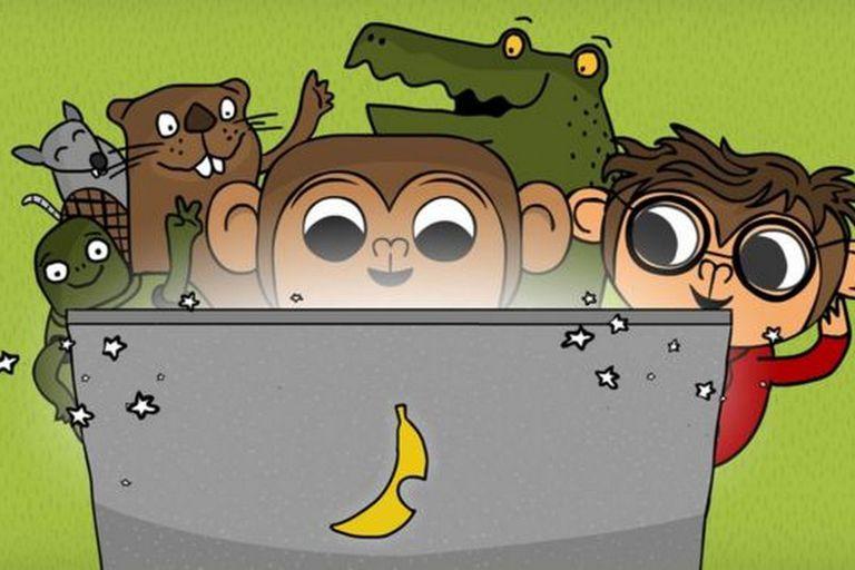 CodeMonkey es una colección de cursos para aprender a programar en un entorno de videojuego