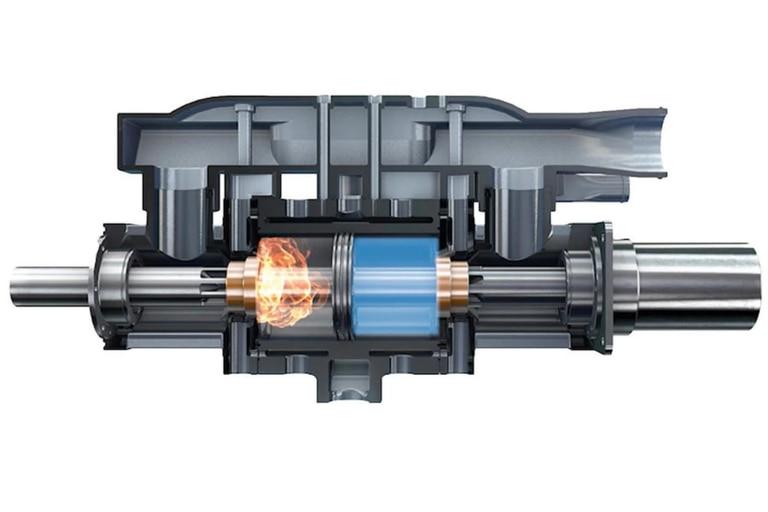 El motor de hidrógeno de 10 kilos que busca cambiar el futuro de los autos