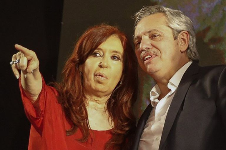 """""""A Macri solo le pedí que cuide las reservas"""", dijo en campaña Alberto Fernández, sobre una conversación que mantuvo con el presidente a comienzos de octubre; desde el Frente de Todos insistían con medidas cambiarias"""