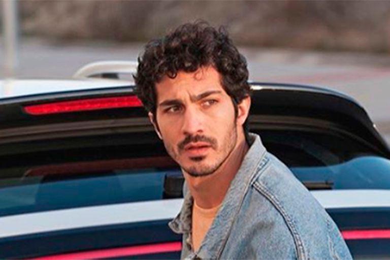 El actor no tuvo reparos en hablar sobre su relación con Úrsula Corberó y sus planes profesionales, pero no quiso referirse al conflicto entre su padre y Valeria Bertuccelli
