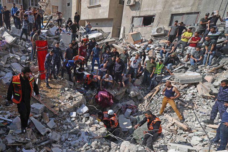 """""""Es como un tsunami"""": los múltiples daños en Gaza tras 11 días de conflicto"""